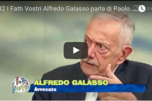 Rai 2. I fatti vostri del 12 novembre 2015: il prof. Alfredo Galasso parla della strage Borsellino. Alla ricerca della verità su motivazioni e mandanti dal 1992 ad oggi.